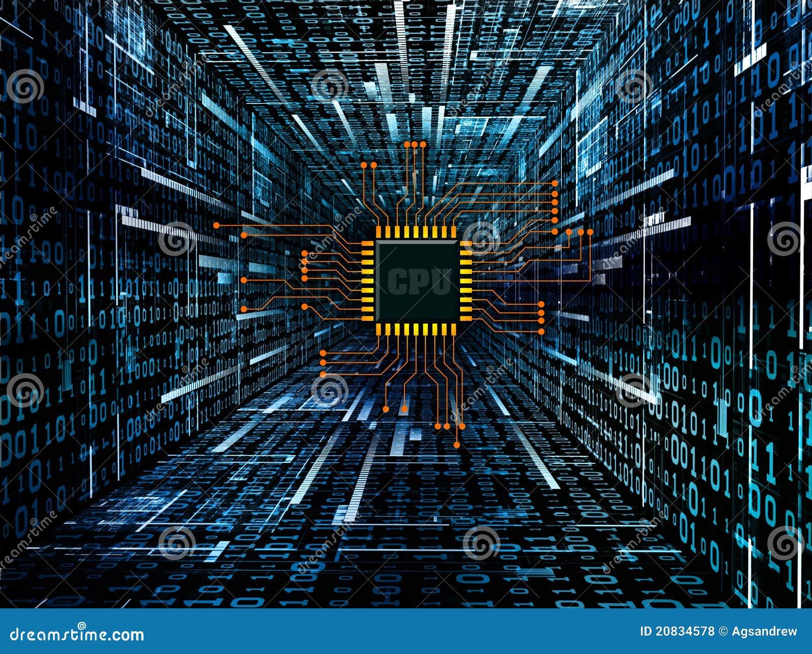 digital circuit stock illustration illustration of space 20834578