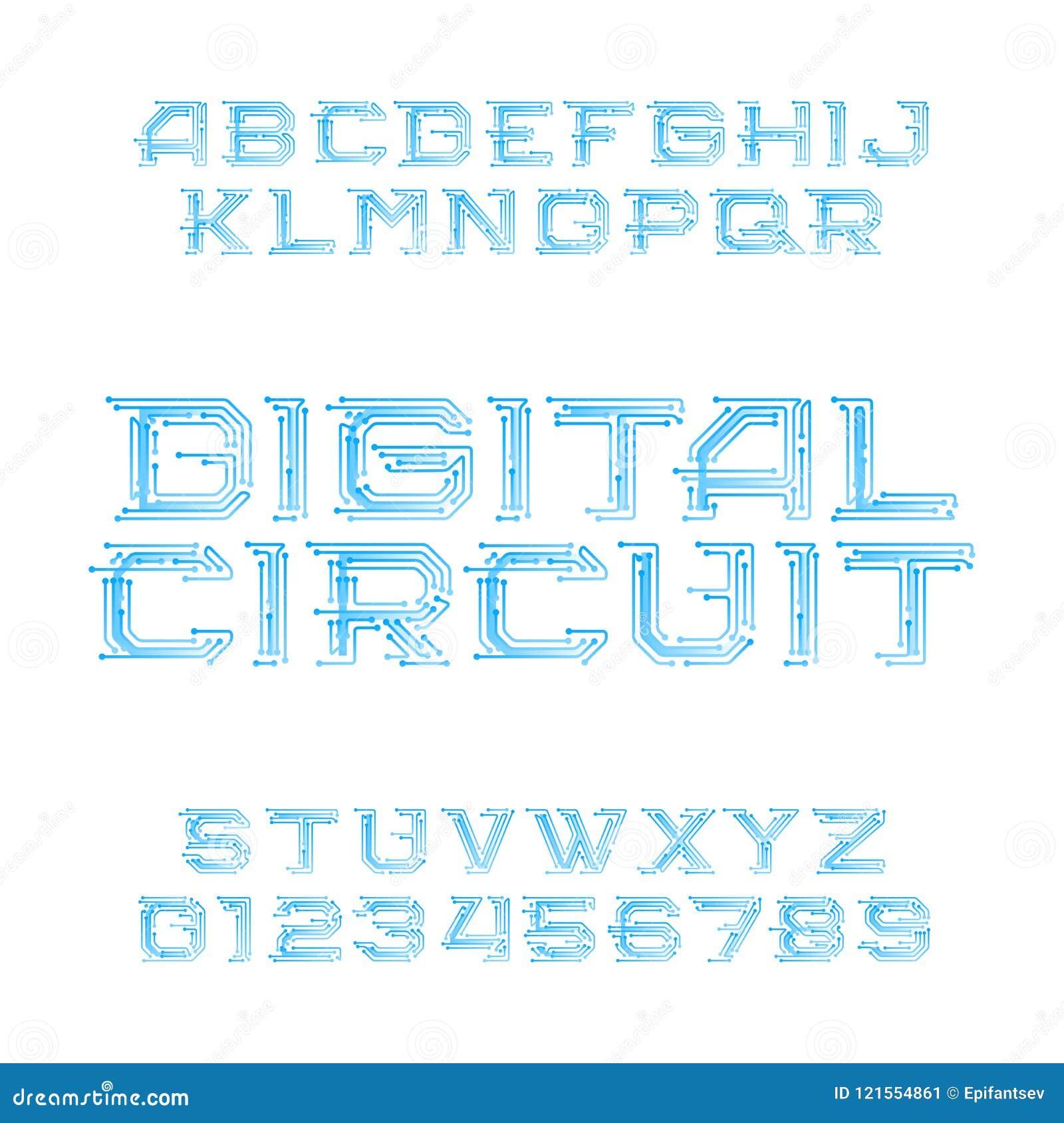 Famous Circuit Board Letters Vignette - Wiring Diagram Ideas ...
