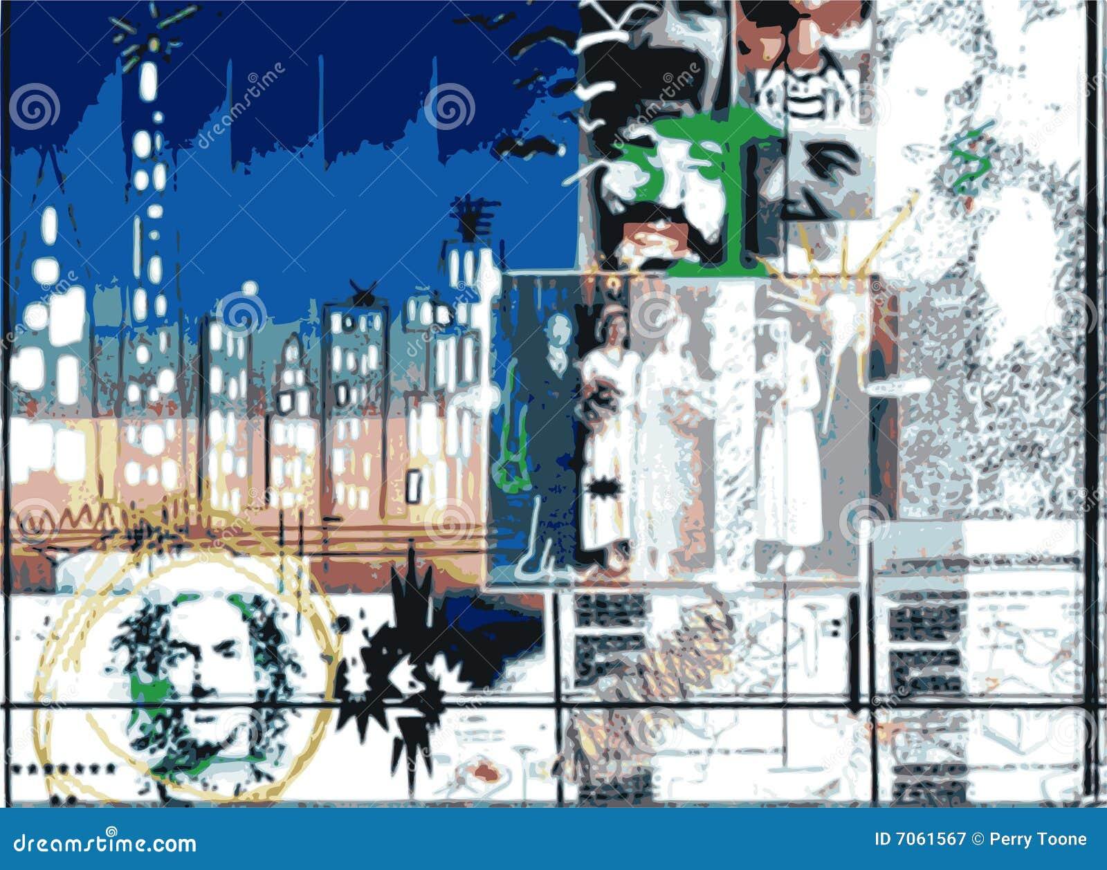 Digital-Collage