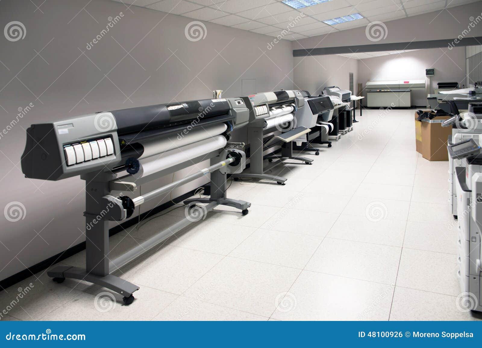 Digital-Drucken - breiter Formatdrucker