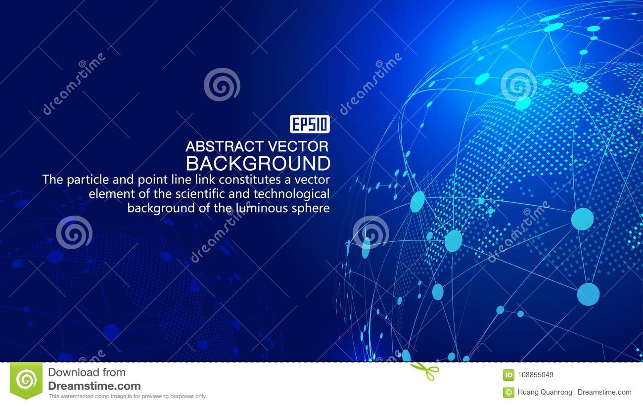 Science And Technology Line Wiring Diagrams Motomucci Project Sr250 Assembly Testfire Digital Earth Dotted Link Glowing Rh Dreamstime Com