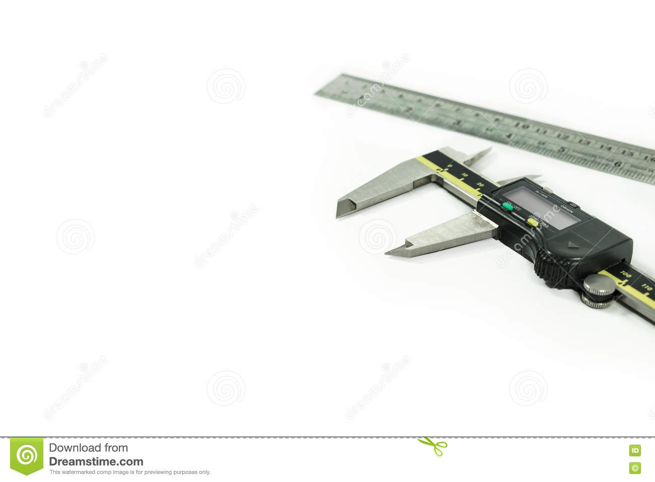 Digital Electronic Vernier Caliper and ruler