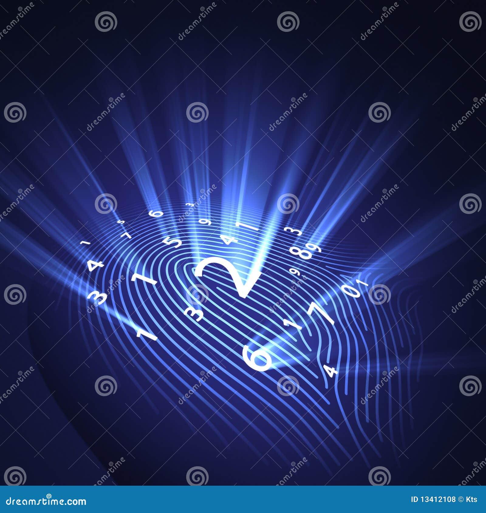 Digital fingeravtrycksäkerhet