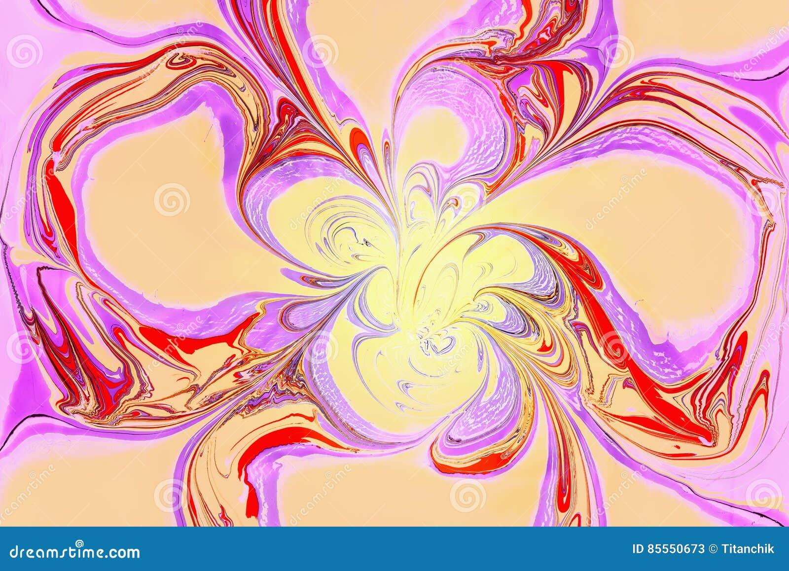 Digital geändertes geometrisches Element des Fotos