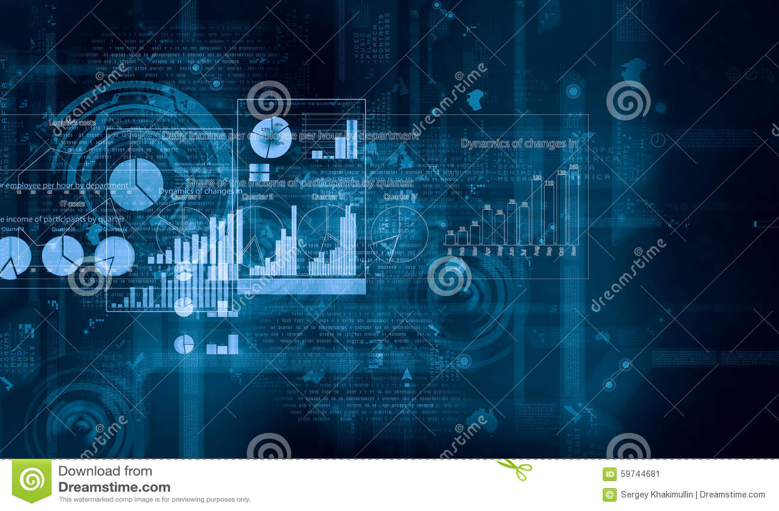digital graph background stock image image of innovation 59744681