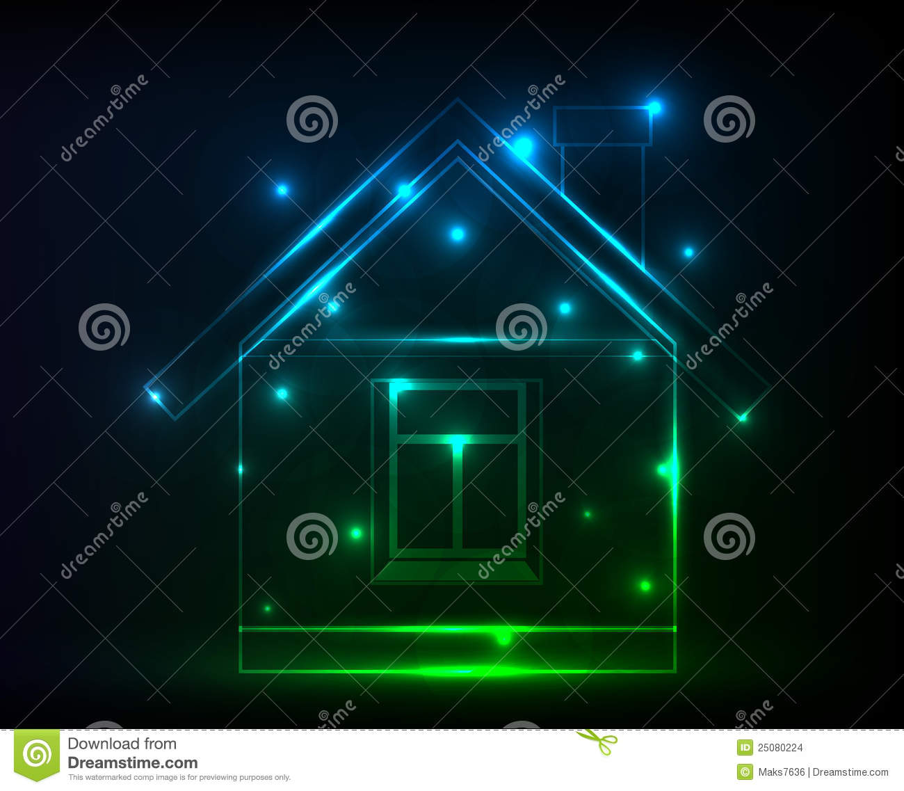 Digital house stock images image 25080224 for Huis digitaal