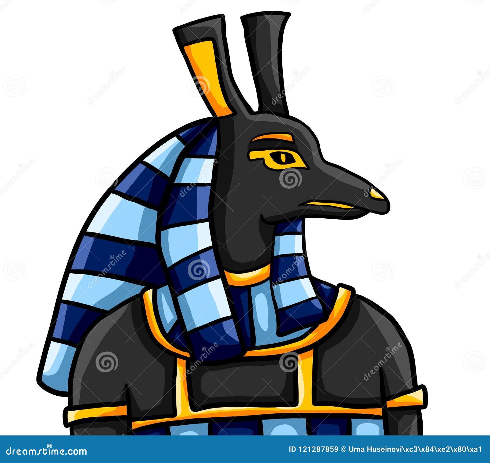 Egyptian God Seth Stock Illustration. Illustration Of