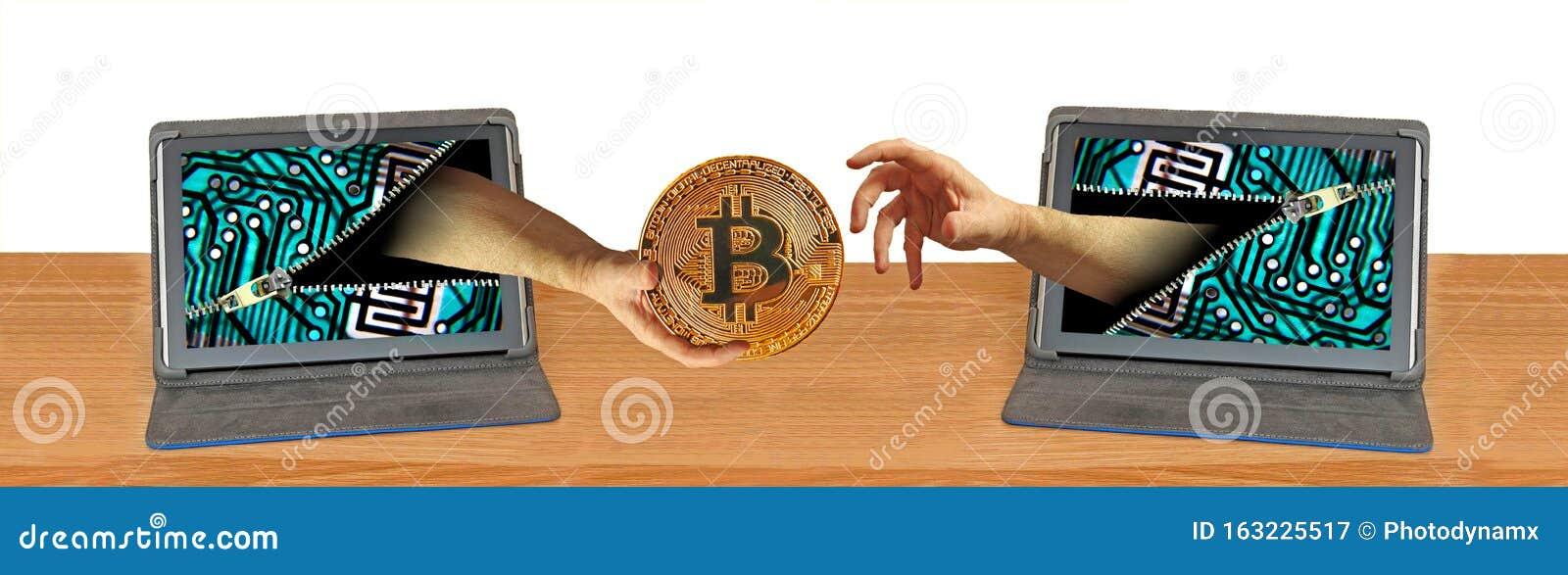 bitcoin on computer