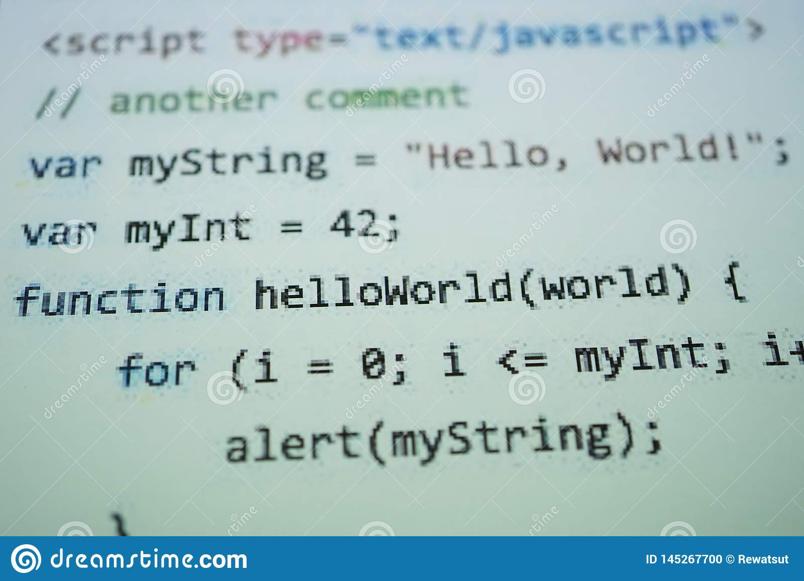 Digital java kodtext Begrepp f?r datorprogramvarakod