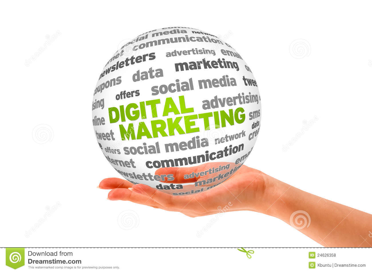 Digital Marketing Royalty Free Stock Photos  Image: 24626358