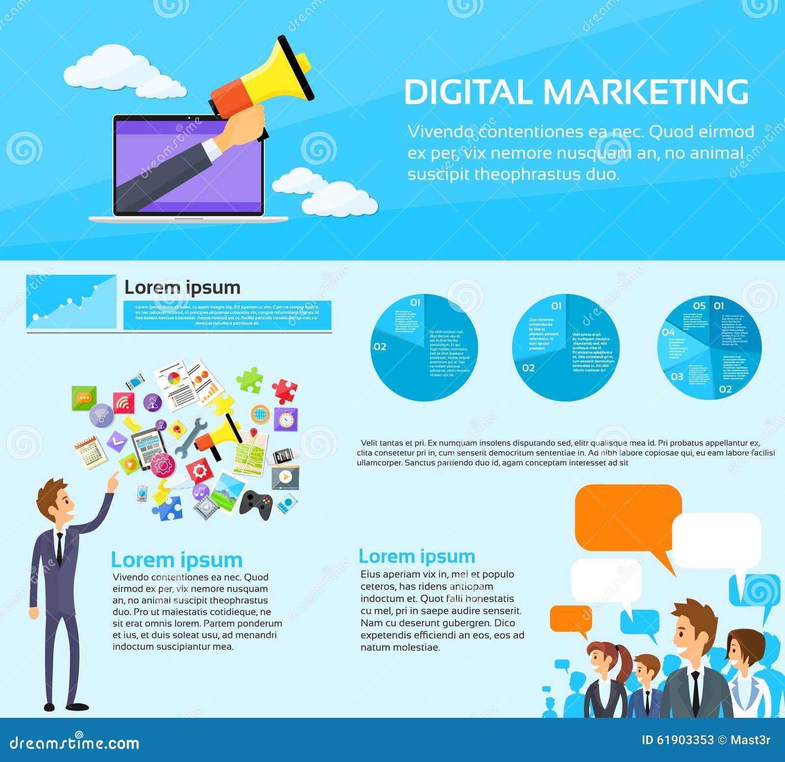 Digital-Marketing-Leute-Gruppen-Social Media