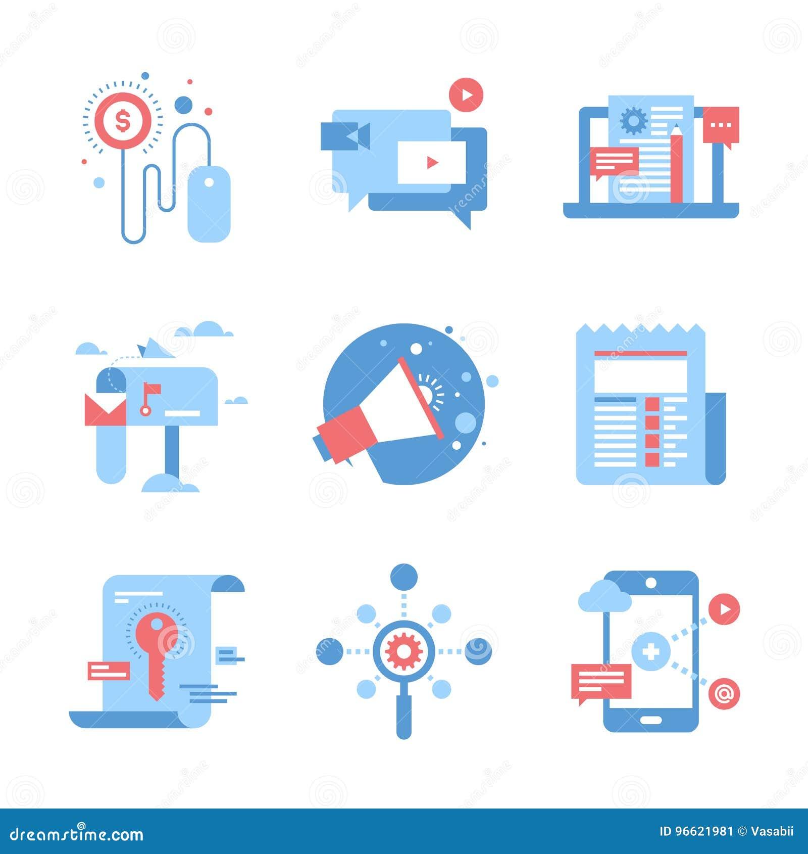 Digital marknadsföringsbegrepp