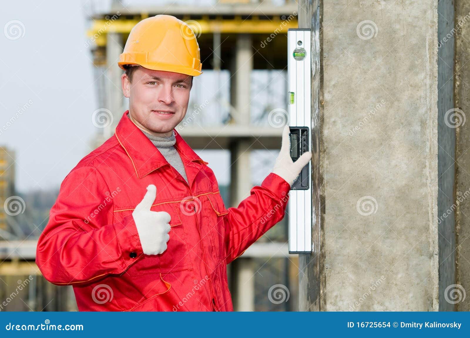 Digital nivå för byggmästare