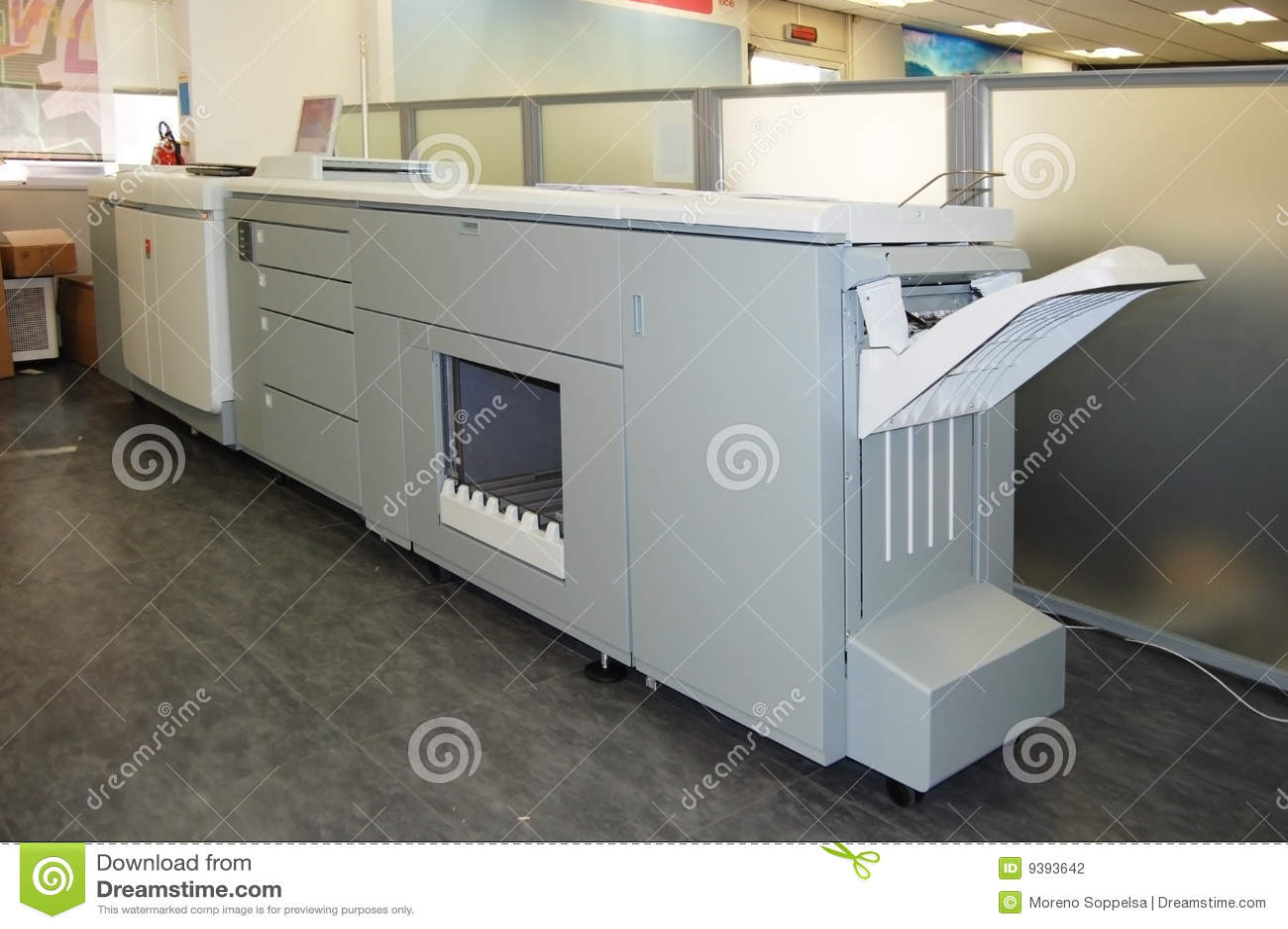 Digital press printing - book print