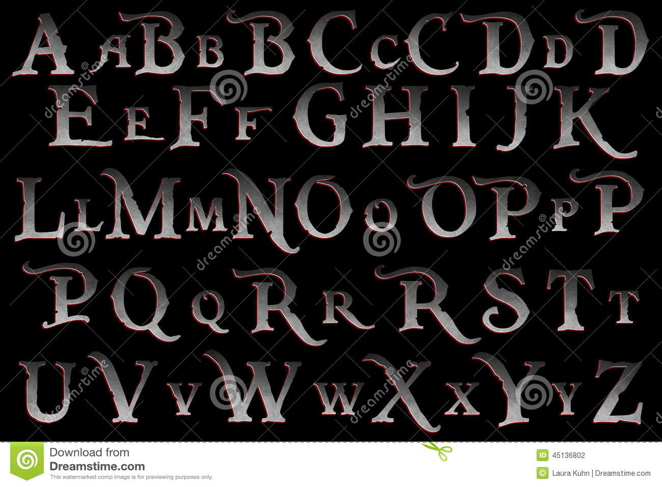 digital scrapbook alphabet pirate mutiny stock photo image 45136802 Lollipop Clip Art Frog Clip Art