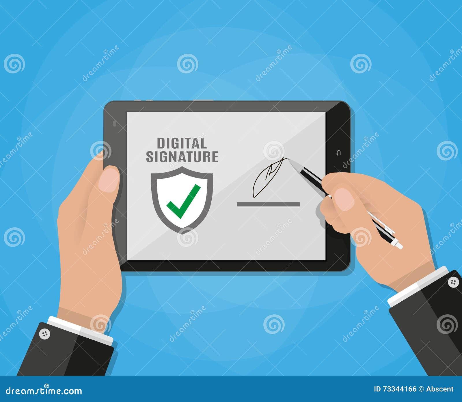 sign pdf with digital signature