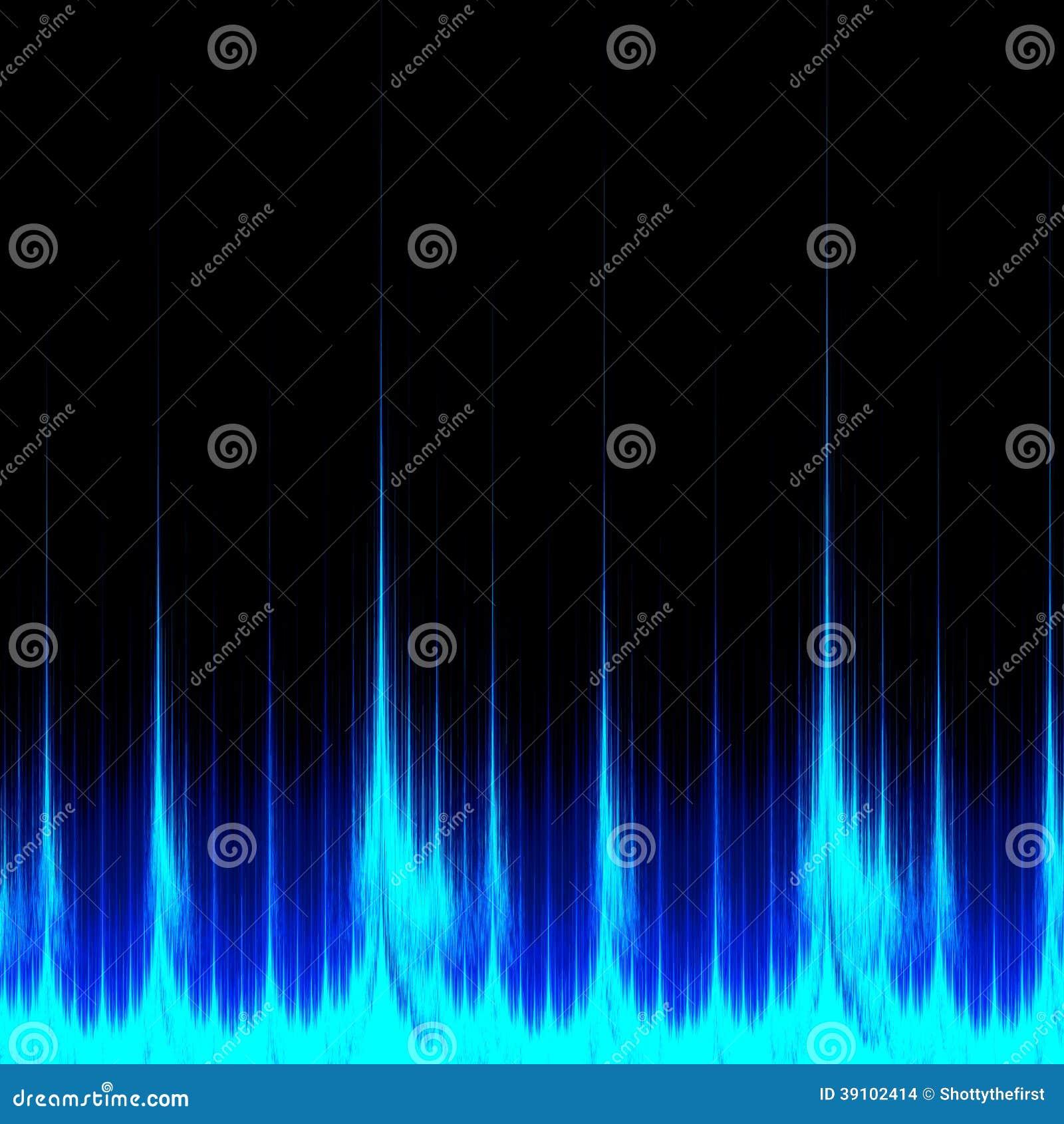 Digital Sound Signal stock illustration  Illustration of banner
