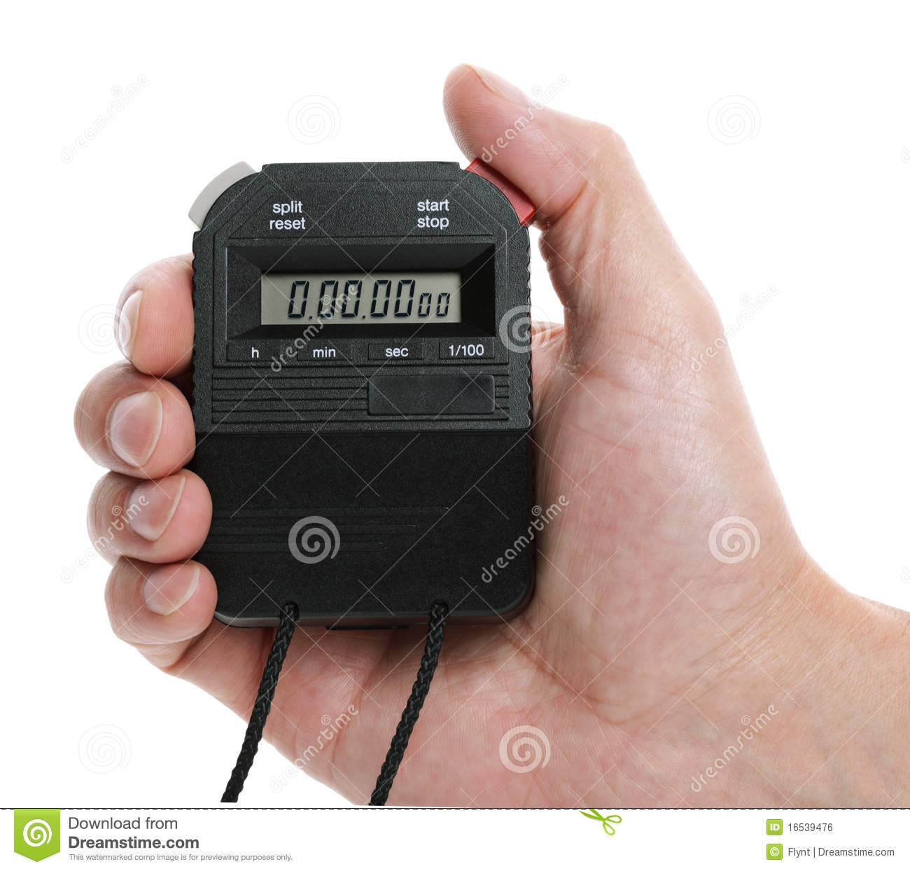 Digital Stopwatch Royalty Free Stock Image - Image: 16539476