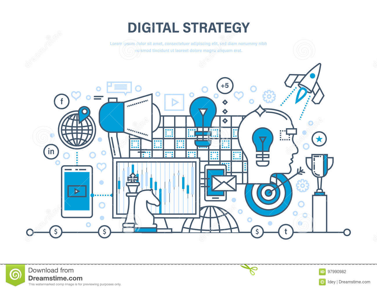 Digital strategy digital marketing media planning for Planning on line