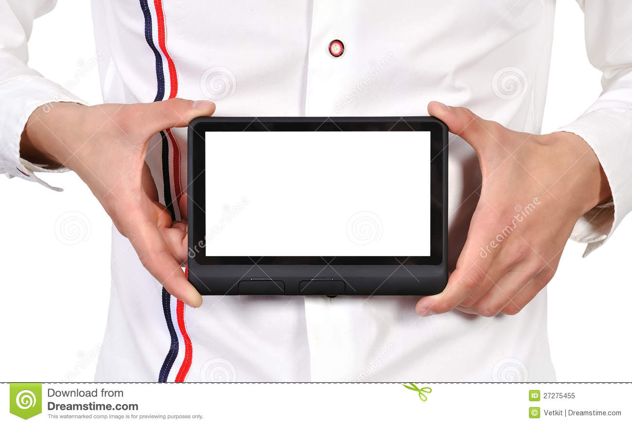 Digital tablet i hand