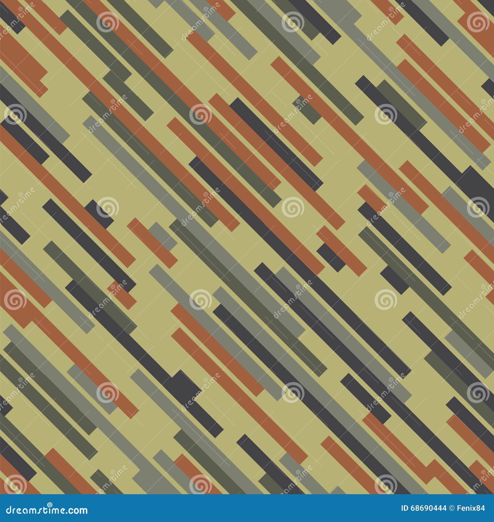 Digital-Tarnung Hölzerne Farbe Nahtloses vektormuster