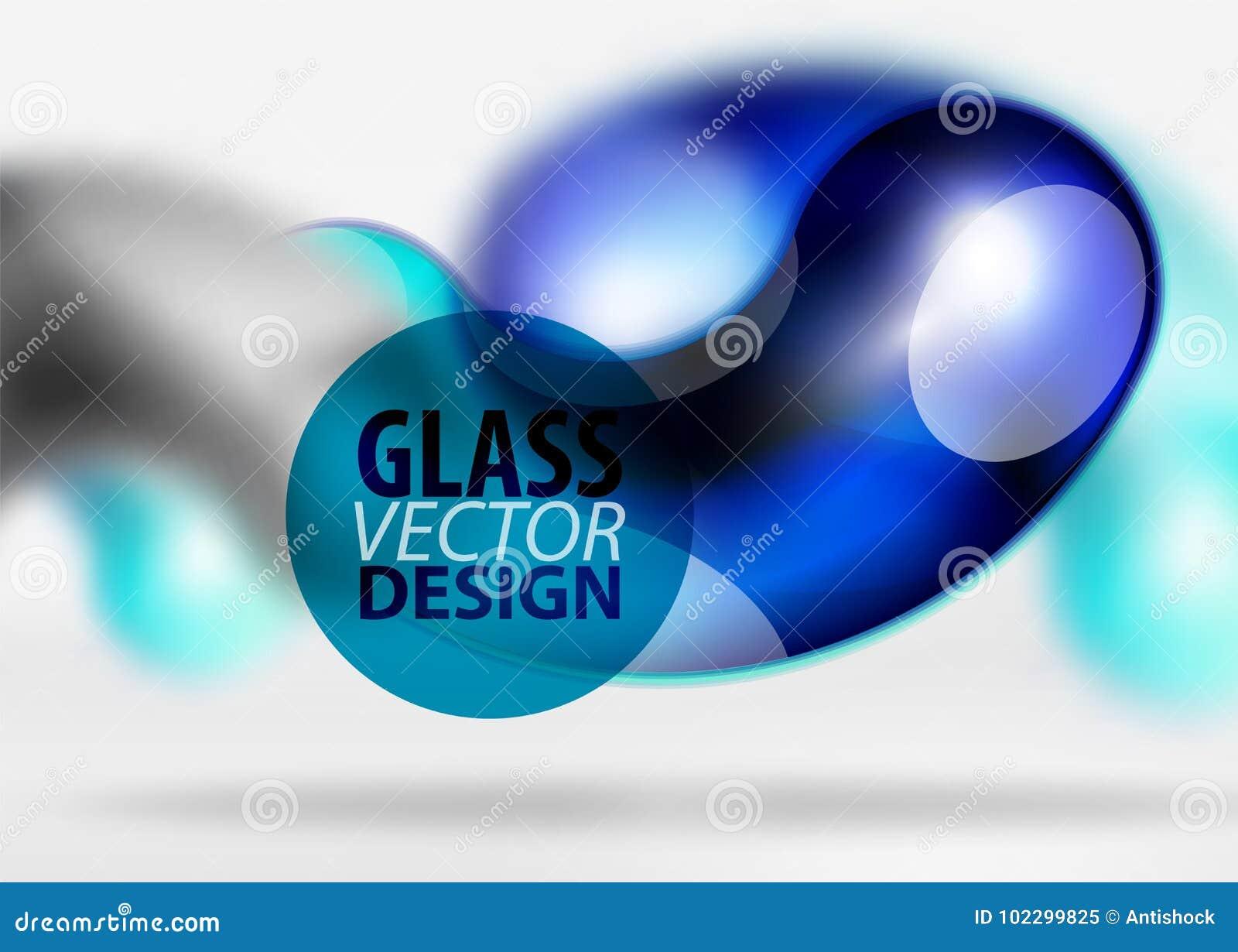 Digital-techno Zusammenfassungshintergrund, grauer Raum 3d mit curvy Glasblase