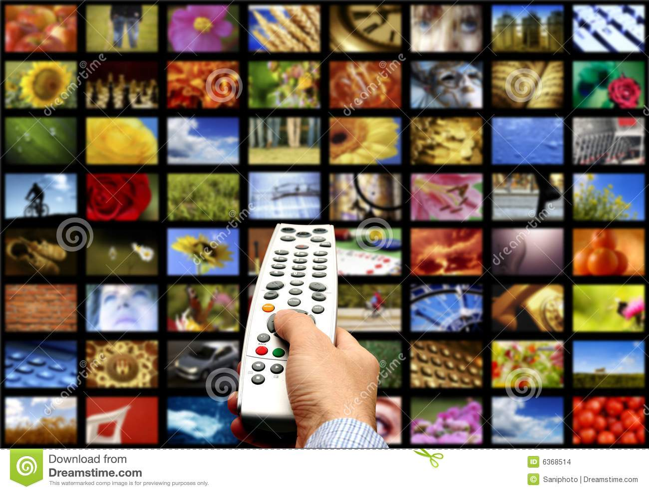 Digital Television Stock Image - Image: 11764701
