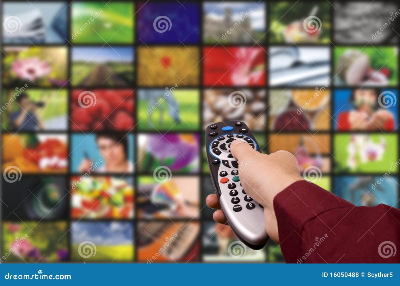 Digital television. Remote control.