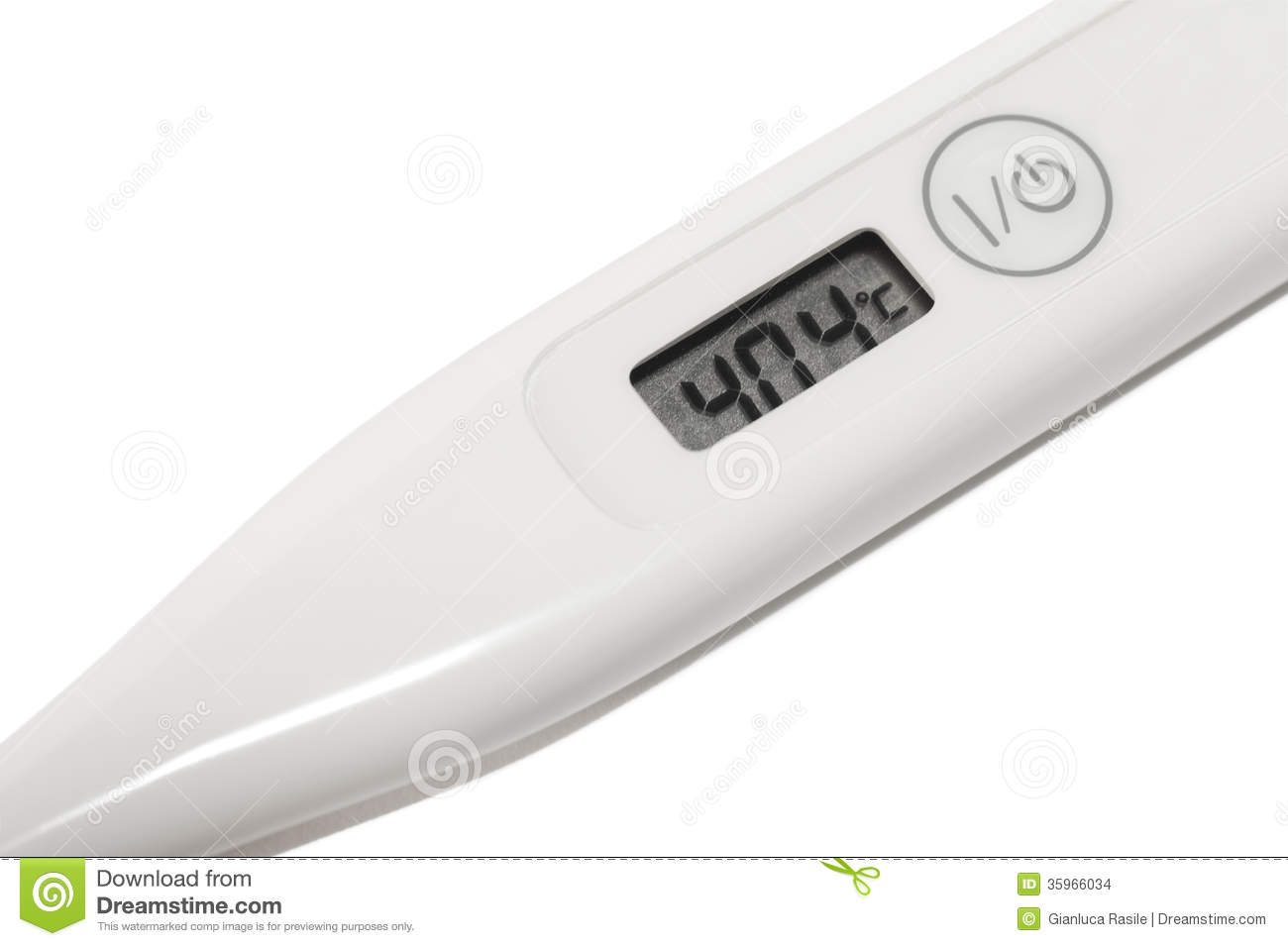 Digital thermometer in...