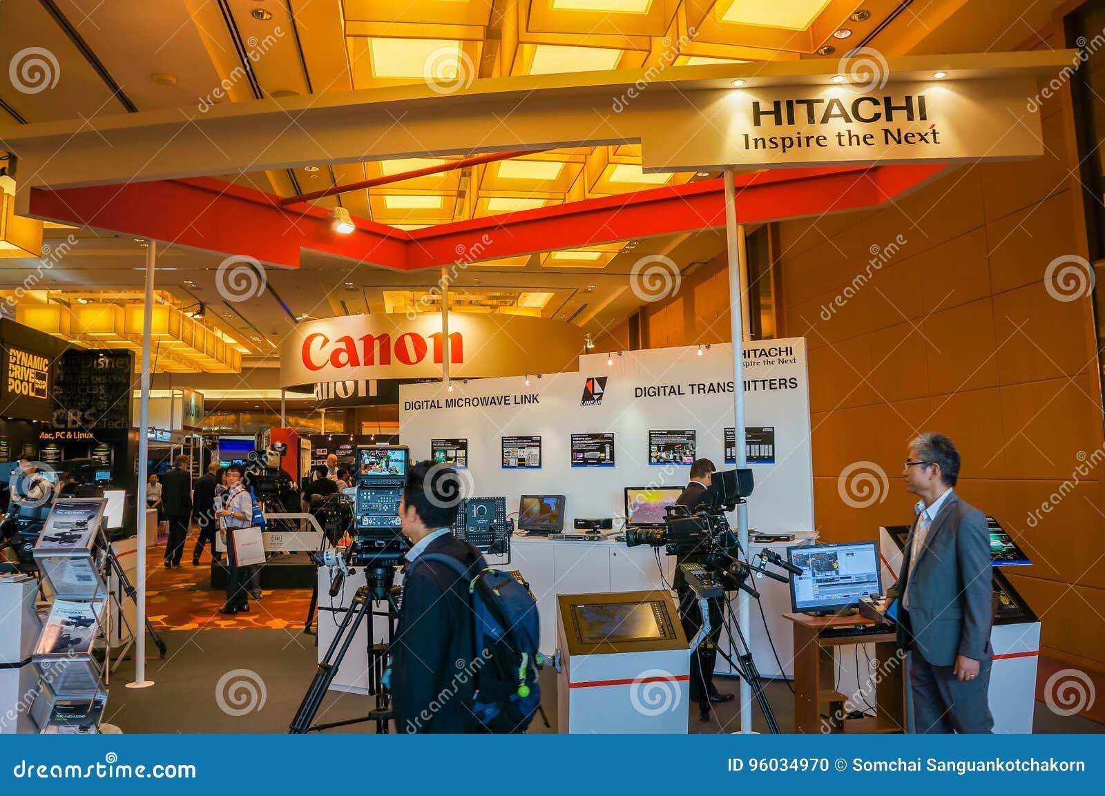 Digital TV i Nadawcza technologii wystawa w Singapur