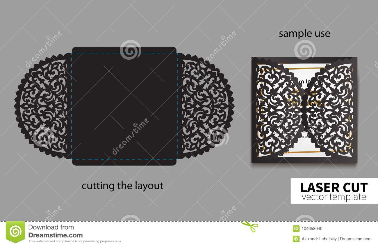 Vector laser cutting stock vector illustration of manufacturing royalty free vector stopboris Images