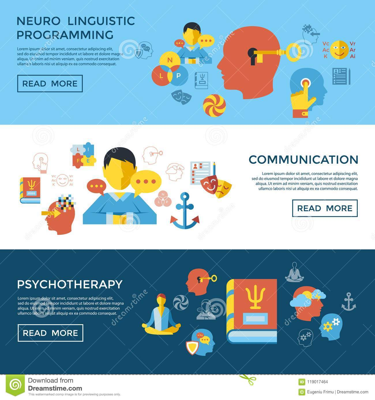 Digital Vector Neuro Linguistic Programming Stock ...