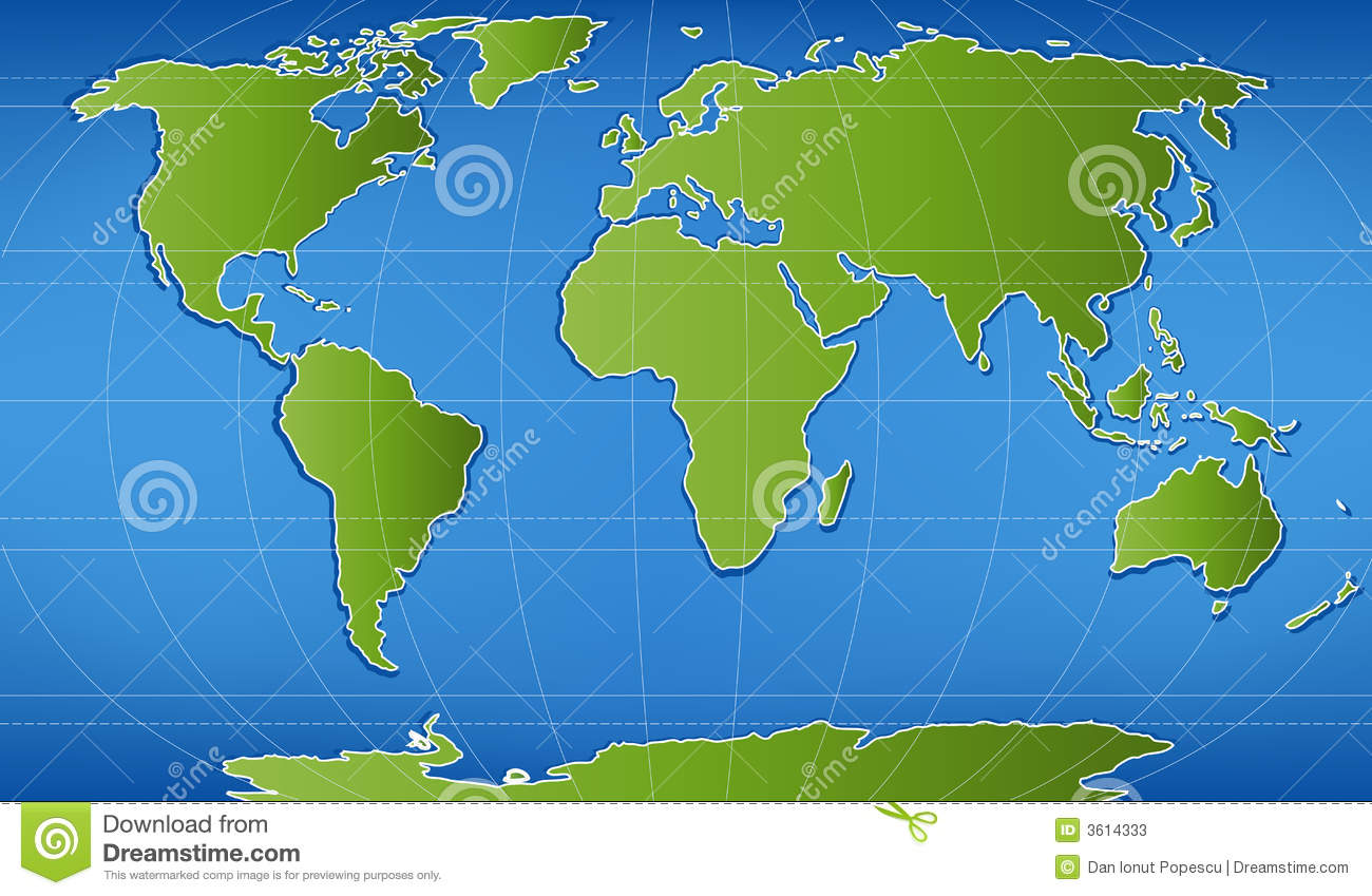 Digital Word Map Stock Photos Image - Word map