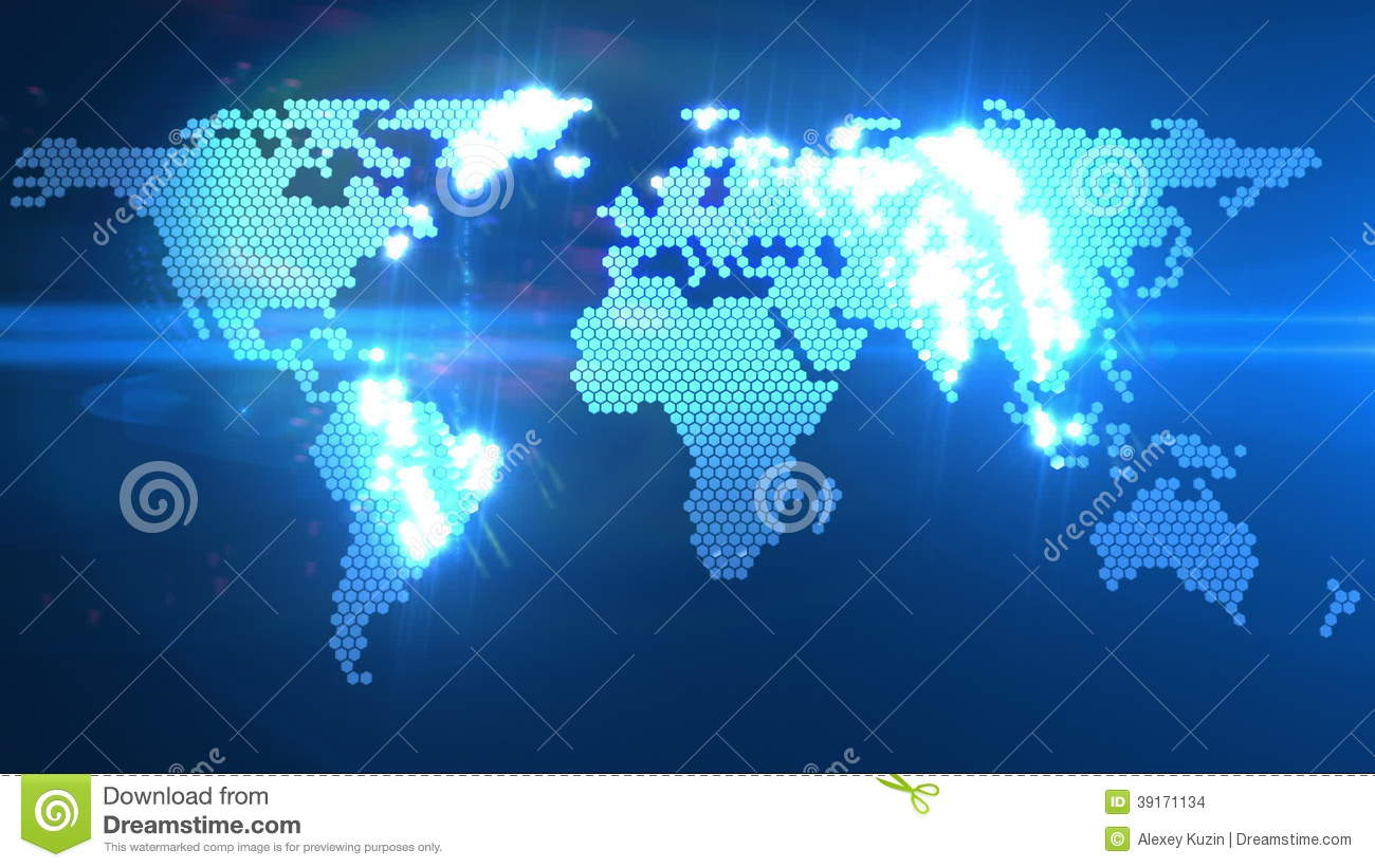 Global network world map animation stock video video 41067537 digital world map animation stock video footage gumiabroncs Choice Image