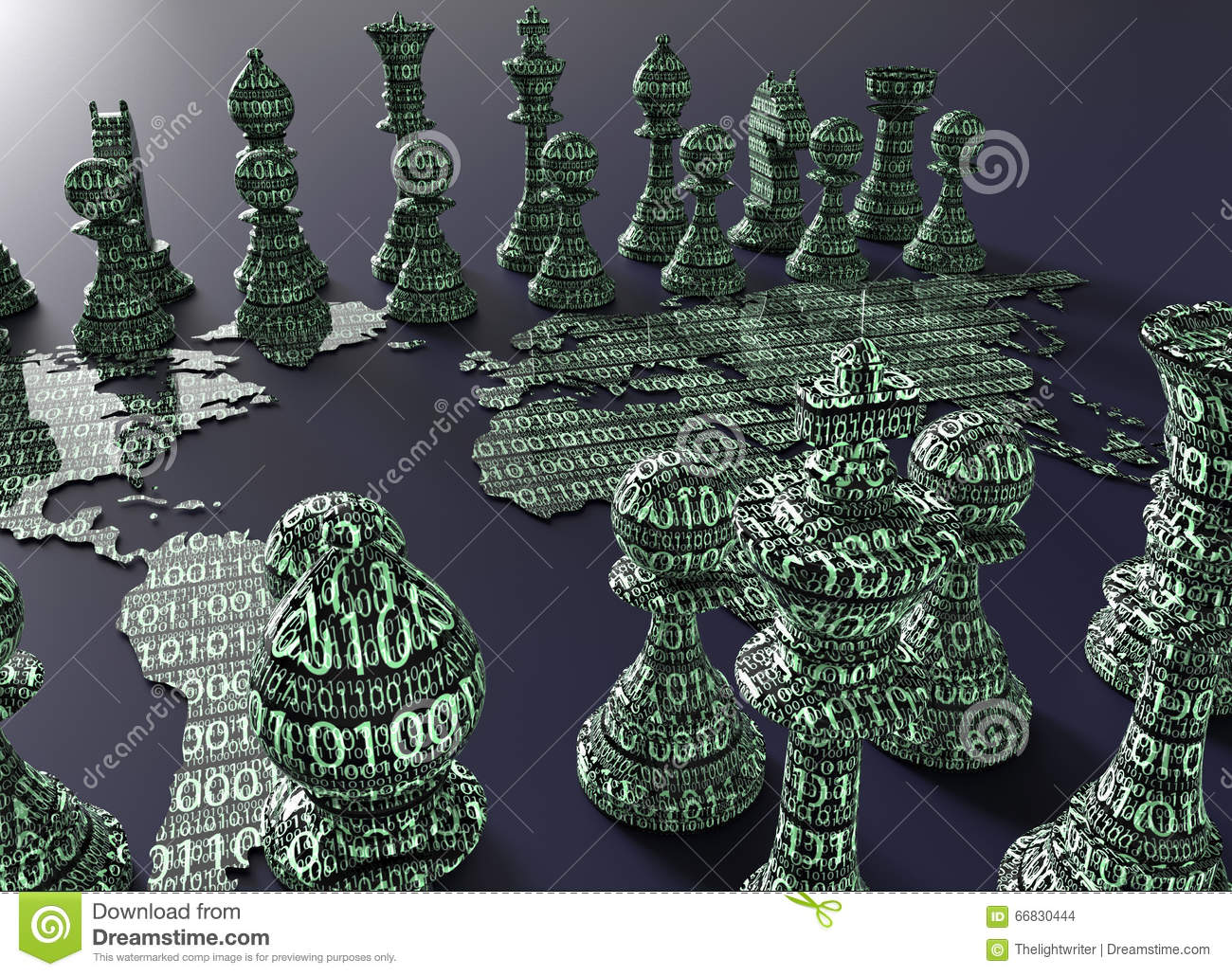Digital world map chess board with chess play stock illustration digital world map chess board with chess play illustration countries gumiabroncs Choice Image