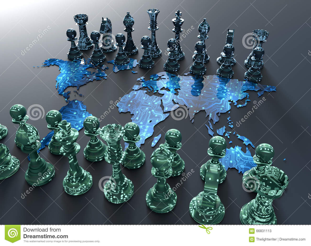 Digital world map chess board with chess play illustration 66831113 digital world map chess board with chess play illustration 66831113 megapixl gumiabroncs Image collections