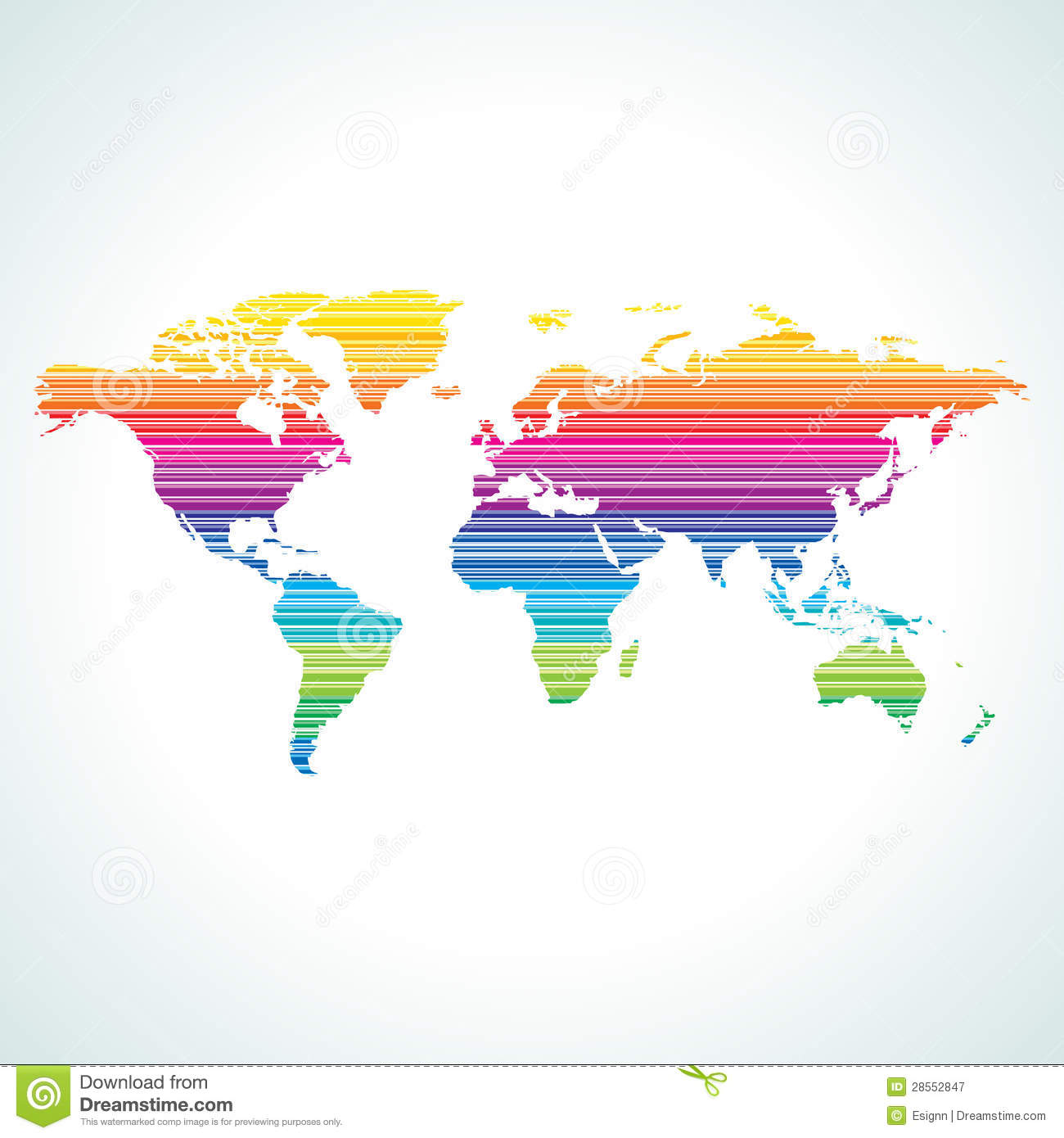 Digital world map design with stripe pattern stock vector digital world map design with stripe pattern gumiabroncs Choice Image