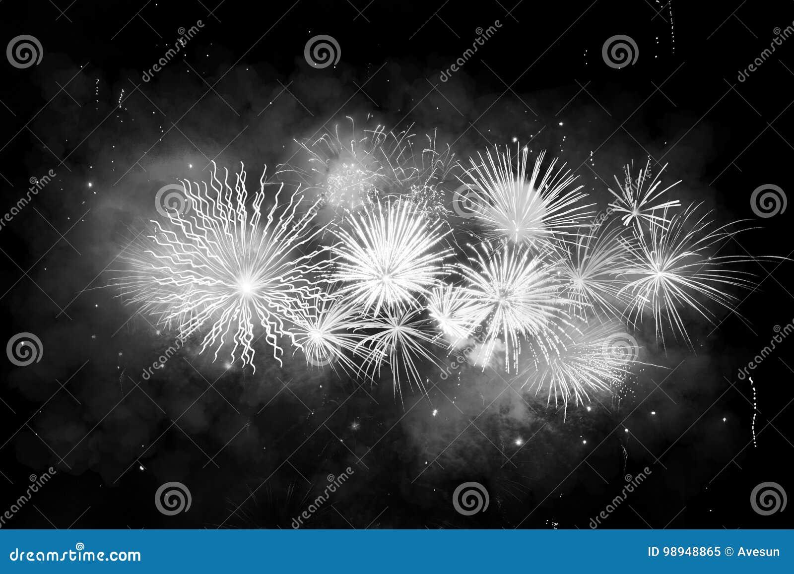 Digital-Zusammensetzung von Feuerwerken