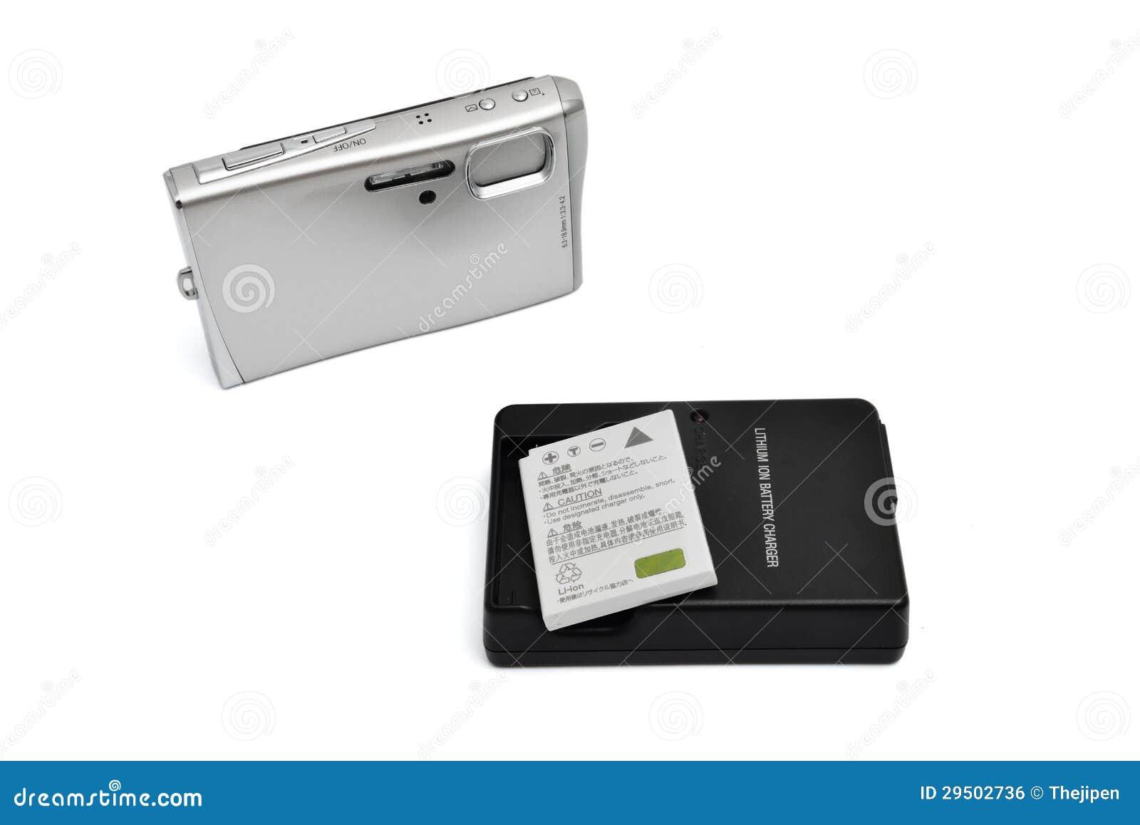 Digitale Camera en batterij