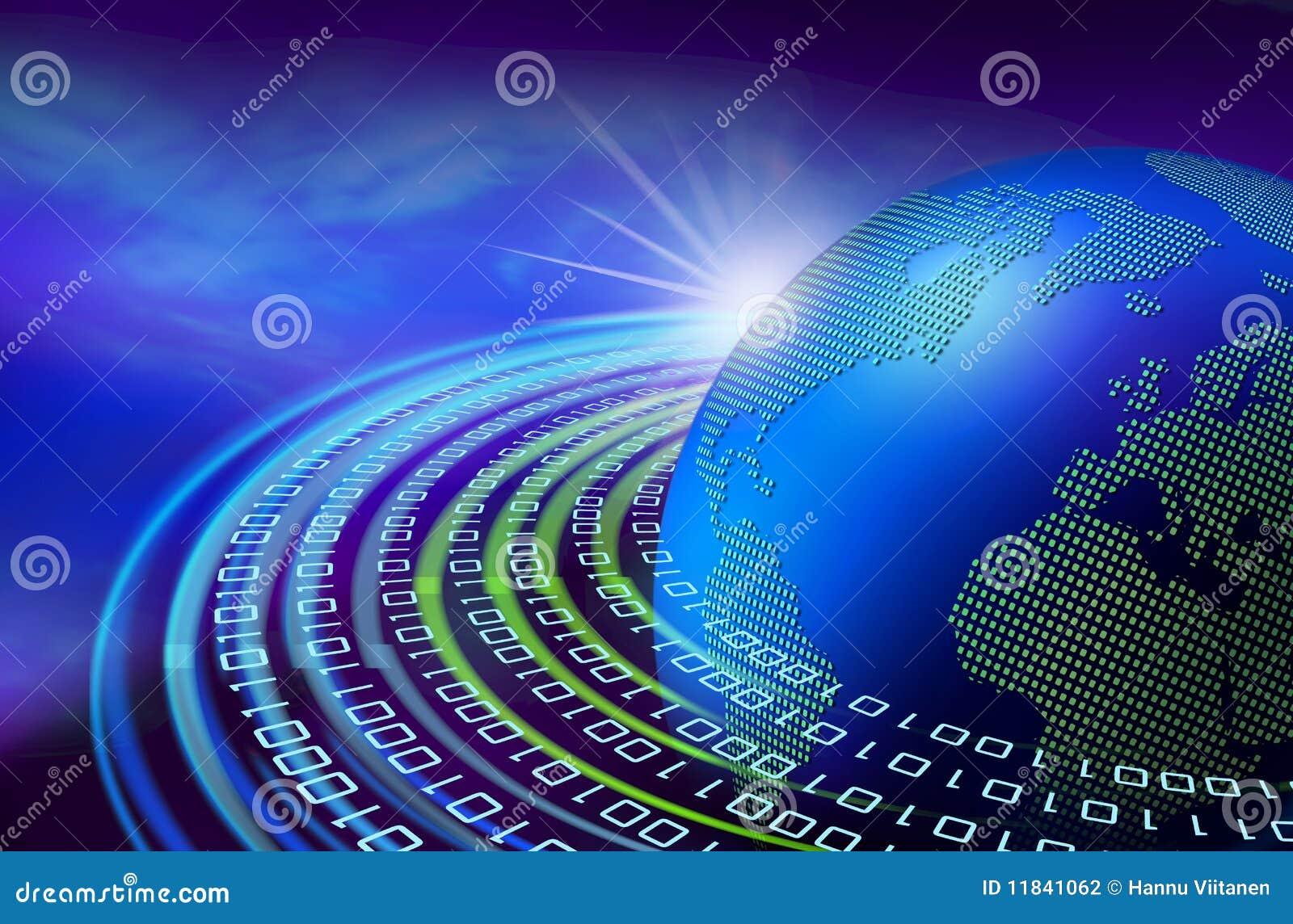 Digitale dageraad ter wereld