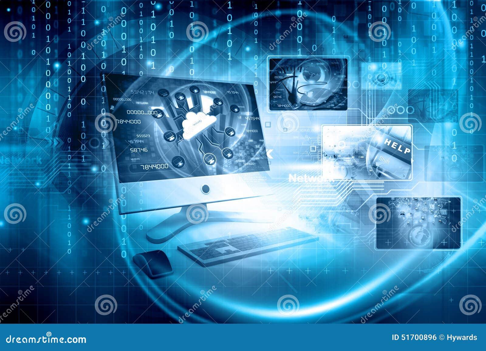 Digitale technologieachtergrond