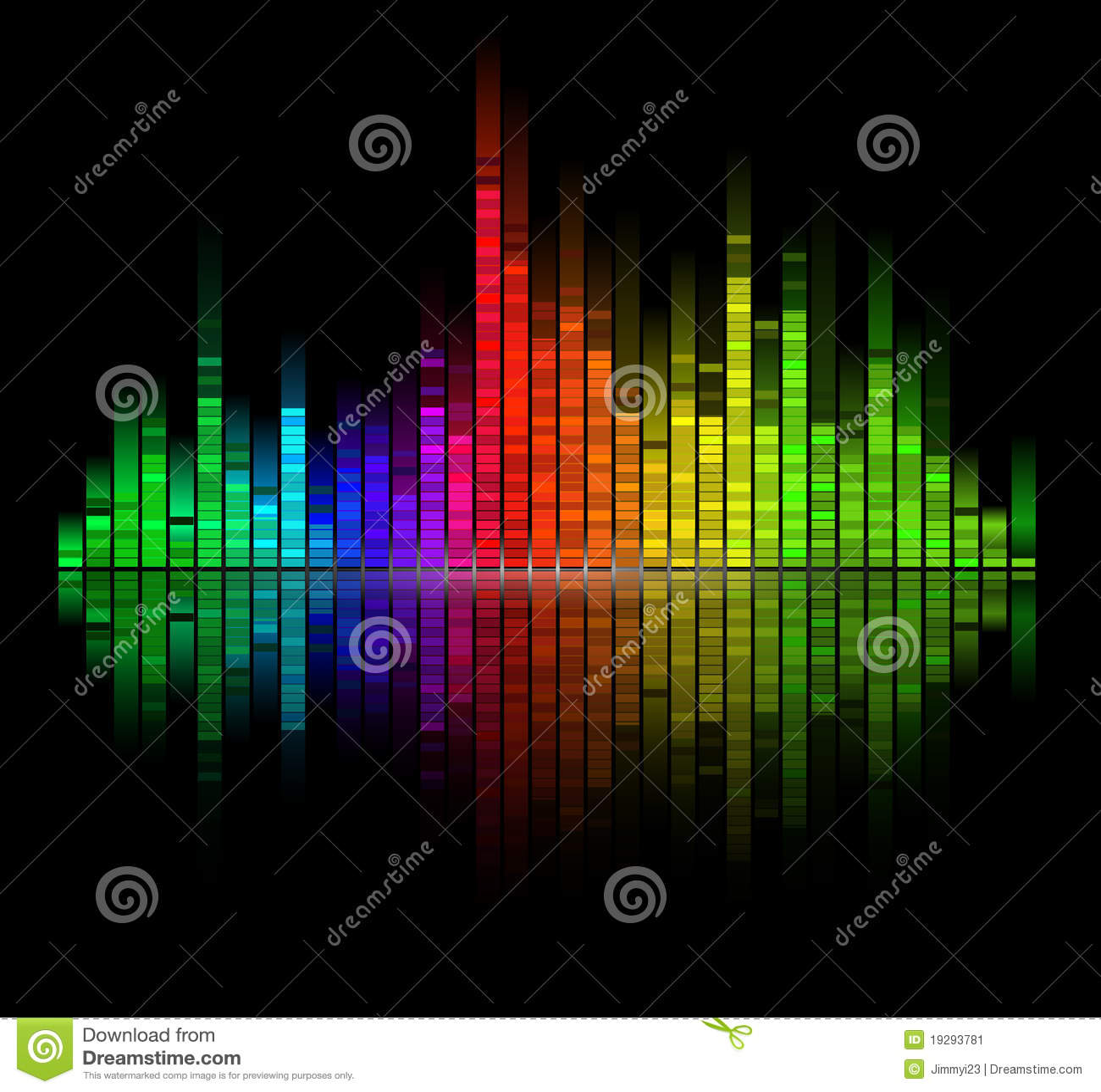 Farbe Aus Was: Digitaler Ton Der Farbe Gleichen Aus Vektor Abbildung