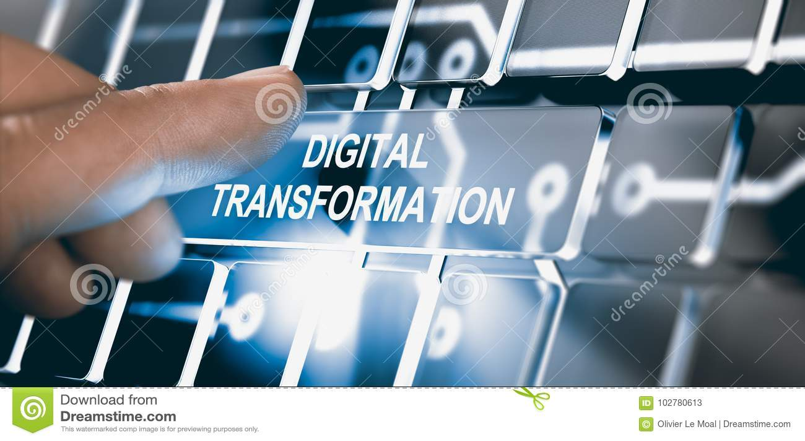 Digitalisering, Digitaal Transformatieconcept