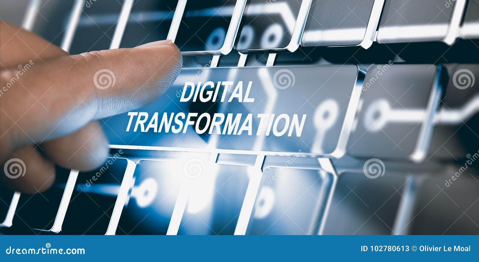 Digitalização, conceito da transformação de Digitas