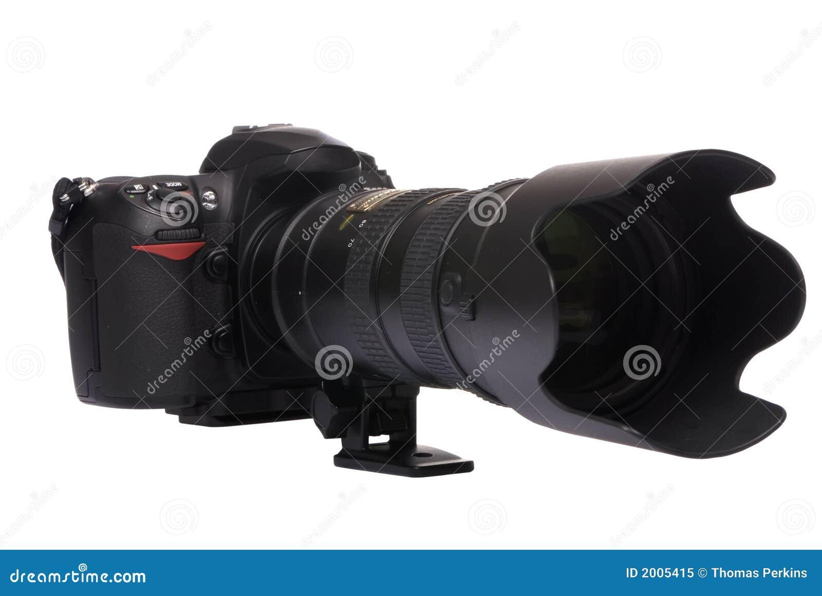 Digitalt dslrexponeringsglas för stor kamera