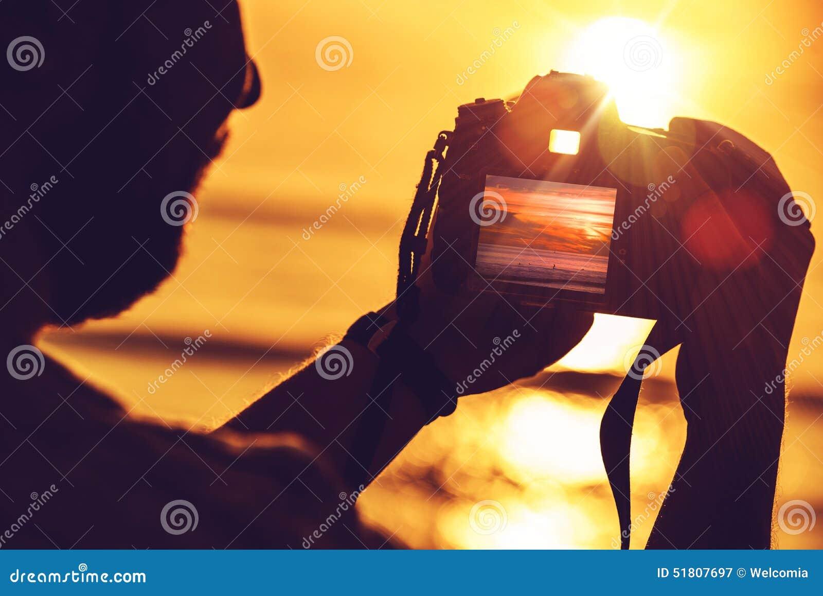 Digitalt fotografi för lopp