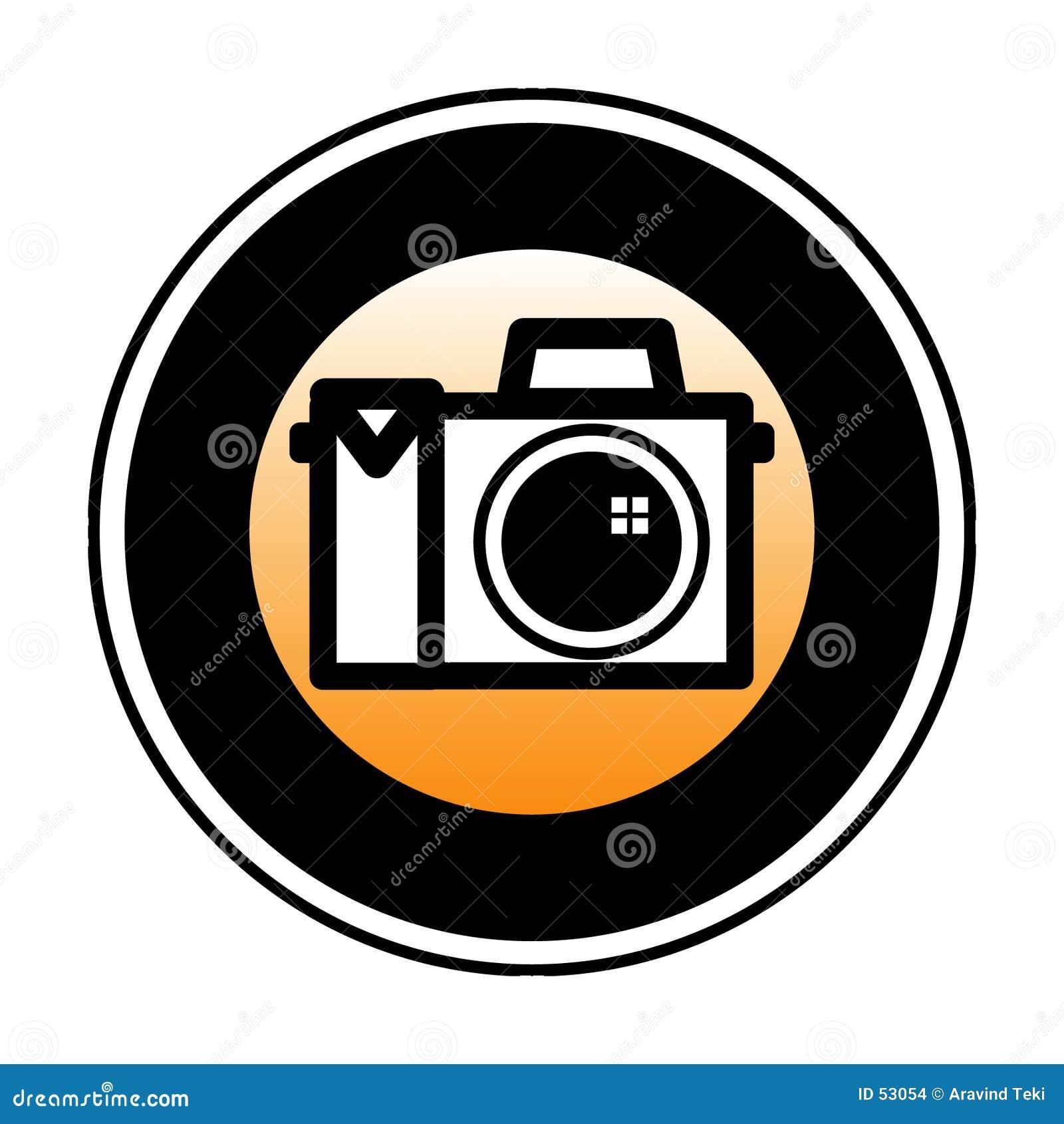 Digitalt symbol för kamera