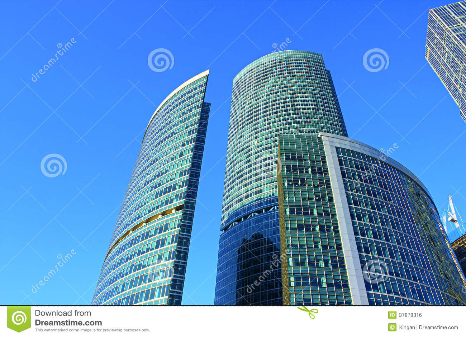 Dijktoren in de Complexe Stad van Moskou