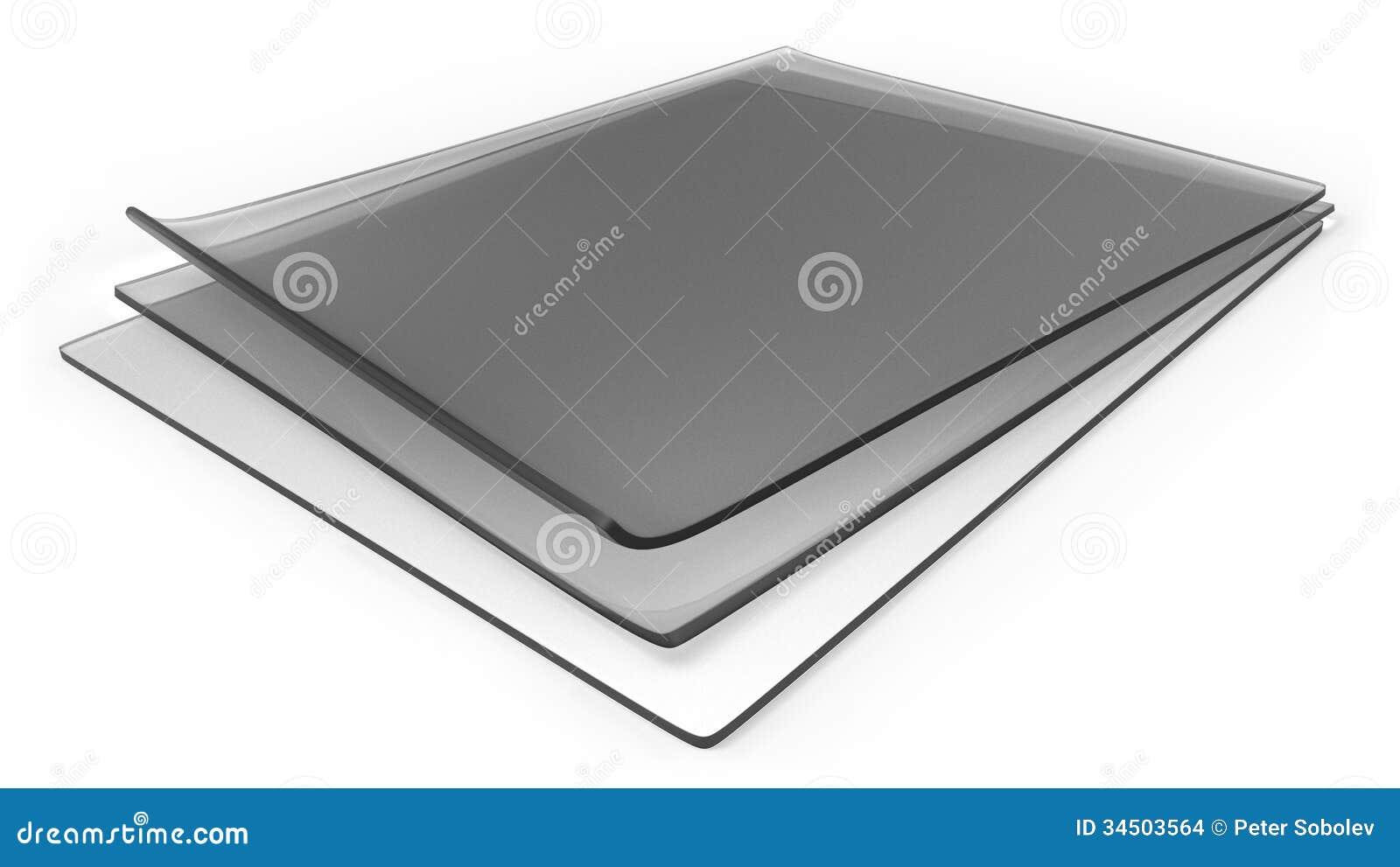 Dikke transparante silicone rubberbladen