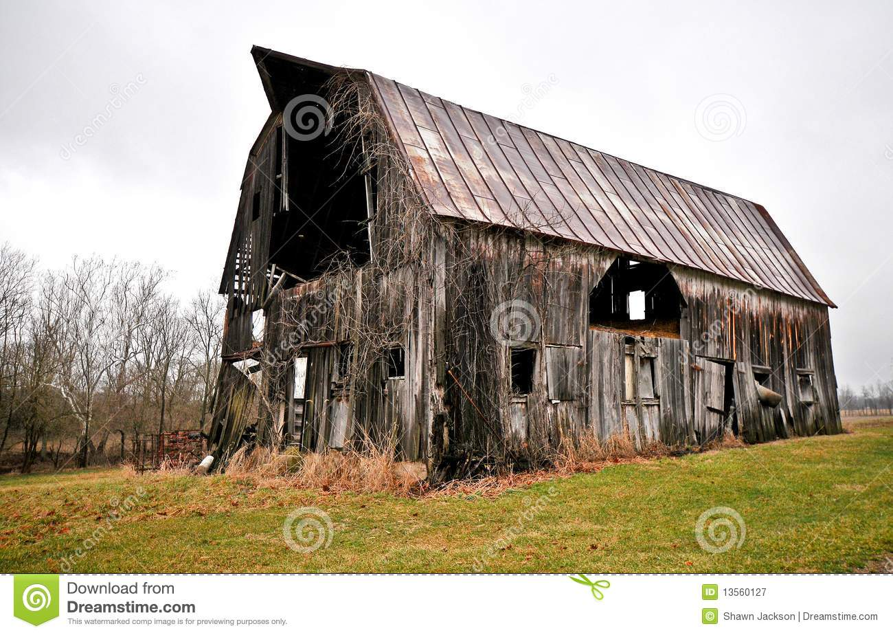 Dilapidated Barn Royalty Free Stock Photography Image